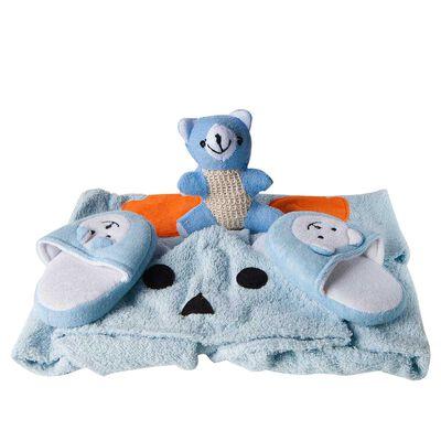 Set peignoir et chaussons pour enfants